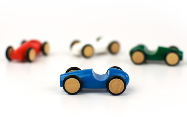 Mini Wood Racer